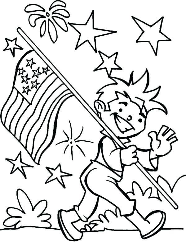 It's just an image of Independence Day Coloring Pages Printable inside happy