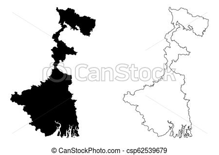 450x319 west bengal map west bengal