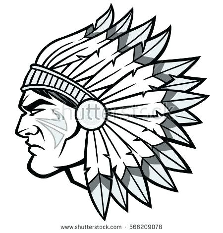 450x470 indian chief headdress chief headdress drawings indian chief