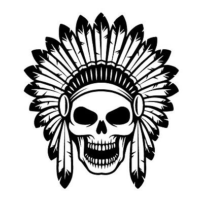 396x400 Indian Chief Decals Compare Prices