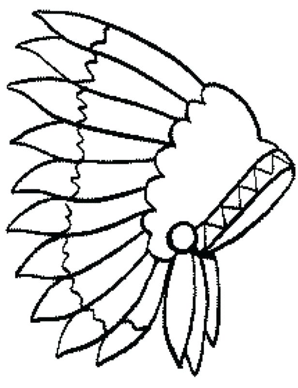 Indian Feathers Drawing