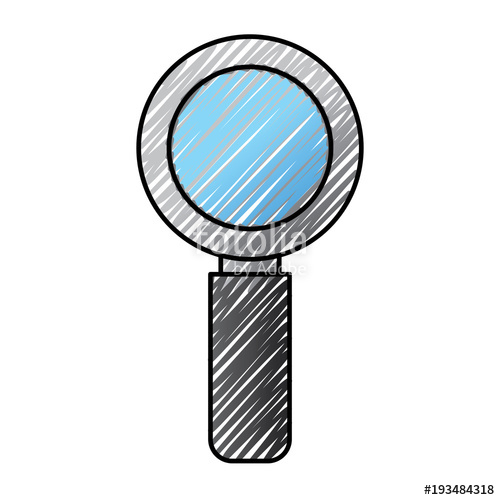 500x500 magnifier search technology research information vector