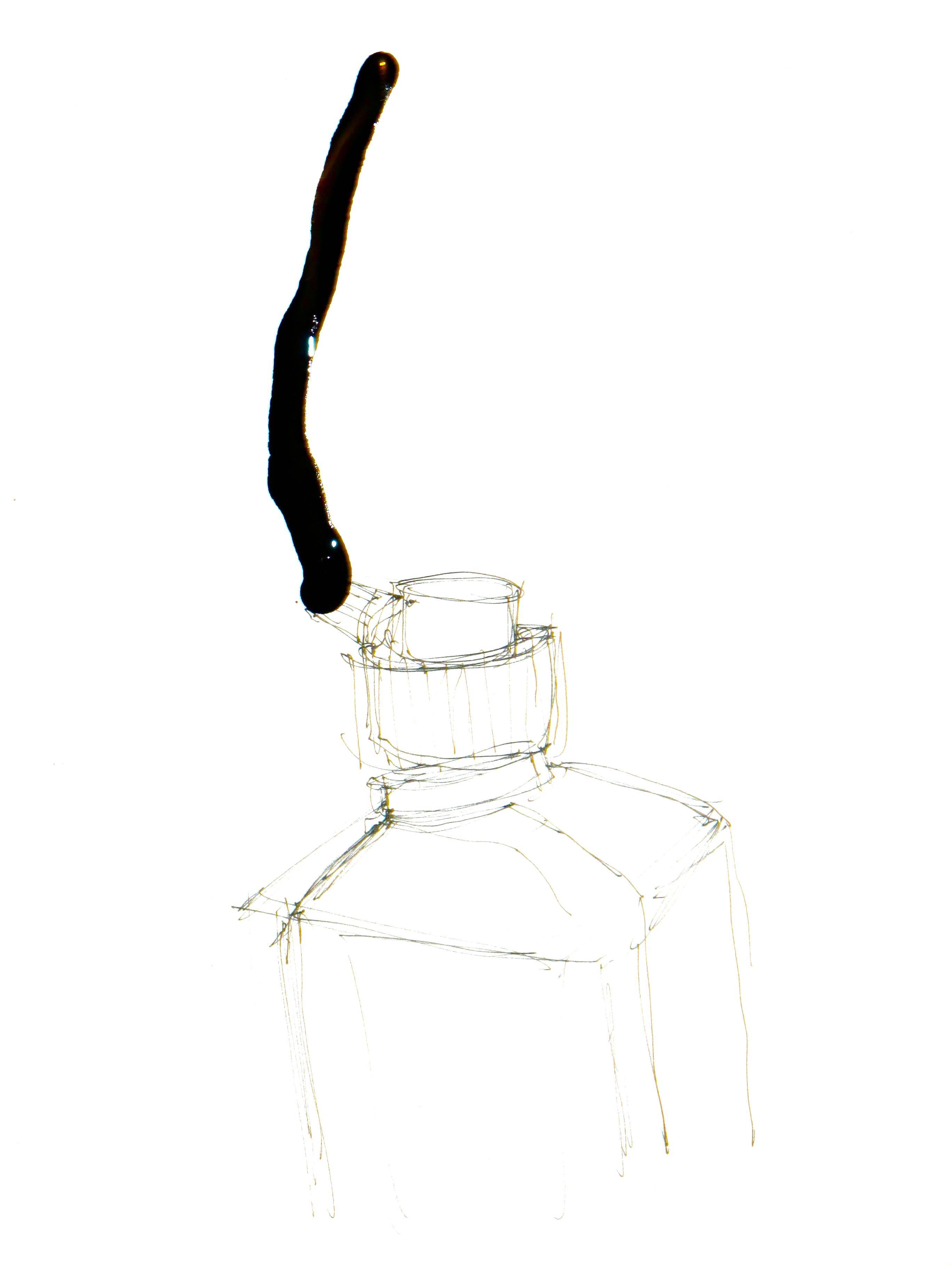 Ink Bottle Drawing