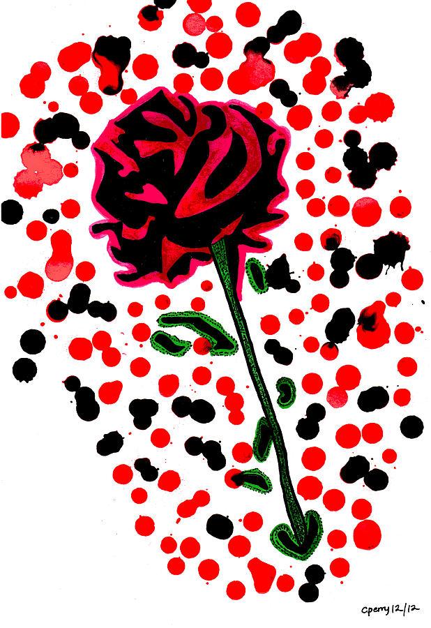 Ink Drawings Of Flowers
