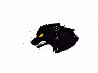 320x239 Day Draw Something Scary I Adore Wolves But I Was Surrounded