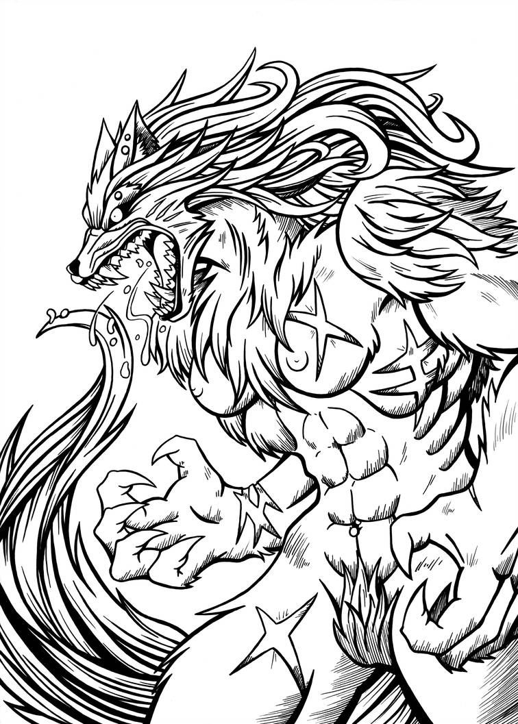 756x1057 Lady Wolf Redone Ink
