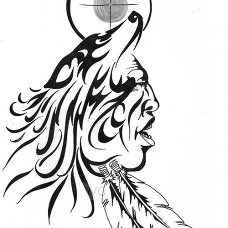 456x456 Spirit Of The Wolf