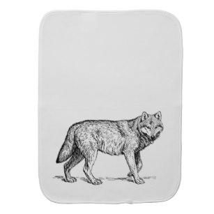 307x307 Wolf Drawings Baby Kids Zazzle Ca