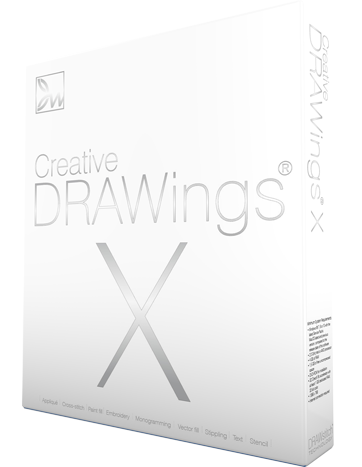 362x467 Drawings Embroidery Software