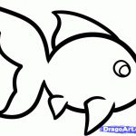 150x150 Innovative Simple Drawing Of A Fish Easy To Draw How Step