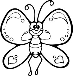 Insect Drawing For Kids