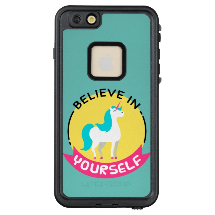 699x699 Unicorn Believe In Yourself Motivational Drawing Lifeproof Fr