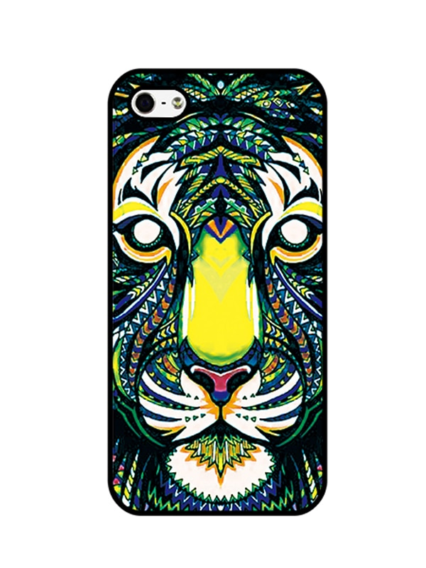600x800 Buy Colored Drawing Tiger Print Case For Iphone