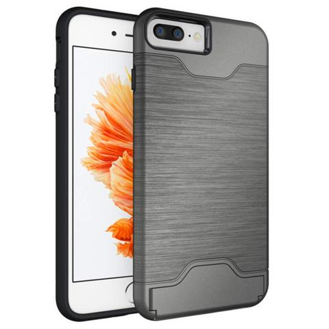 480x480 case for iphone hybrid wire drawing hard armor case cover