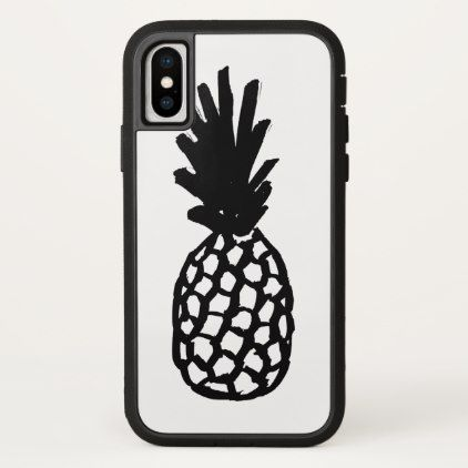 422x422 black pineapple case mate iphone case drawing