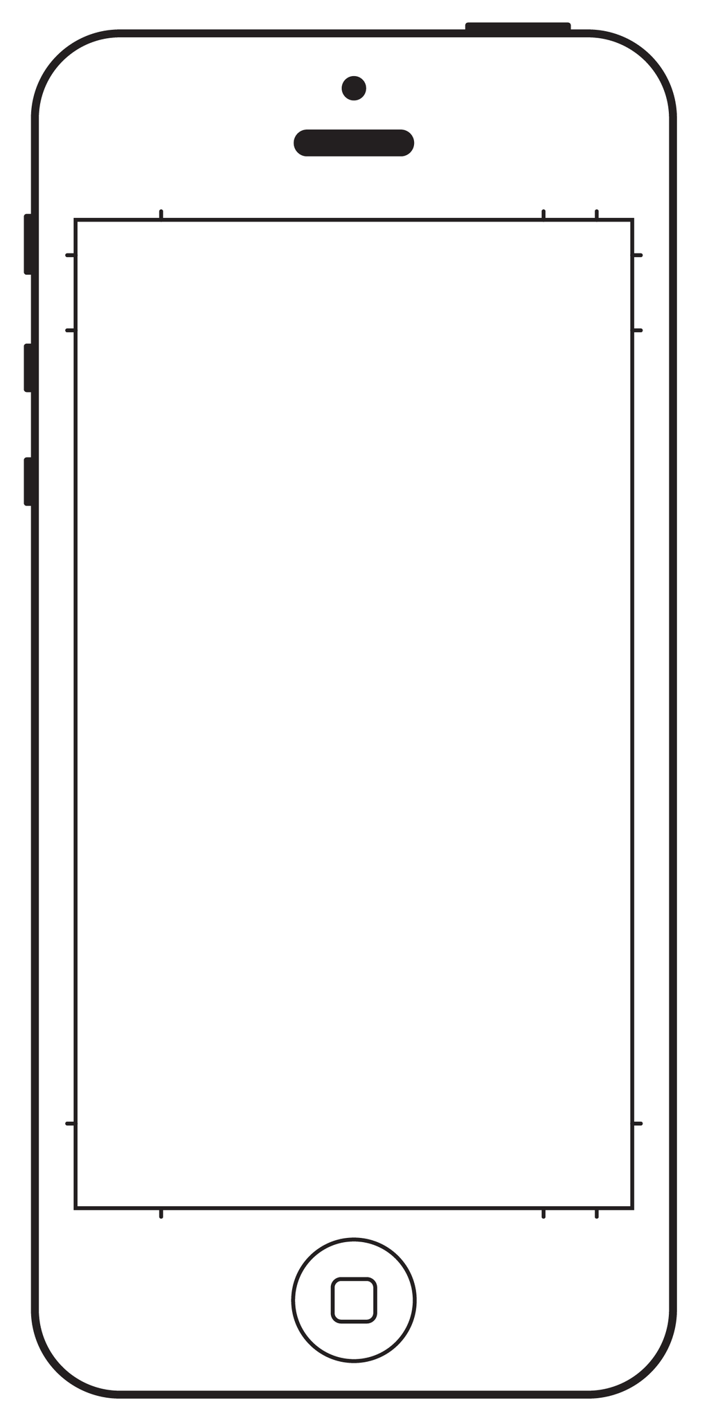 1024x2048 Drawing Outlines Iphone For Free Download