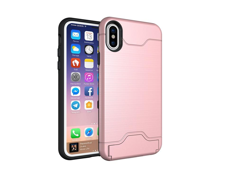 950x750 Hidden Card Slot Phone Cases For Iphone X Case Luxury Slim Drawing