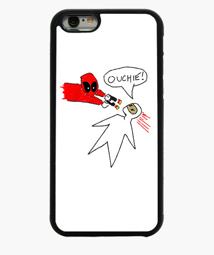437x520 Deadpool Drawing Iphone Cases
