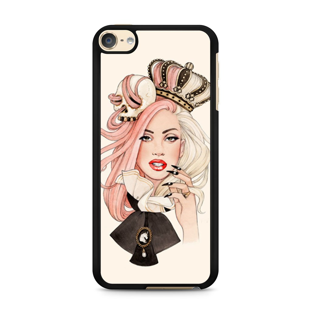 1024x1024 lady gaga drawing helen green ipod touch case case persona