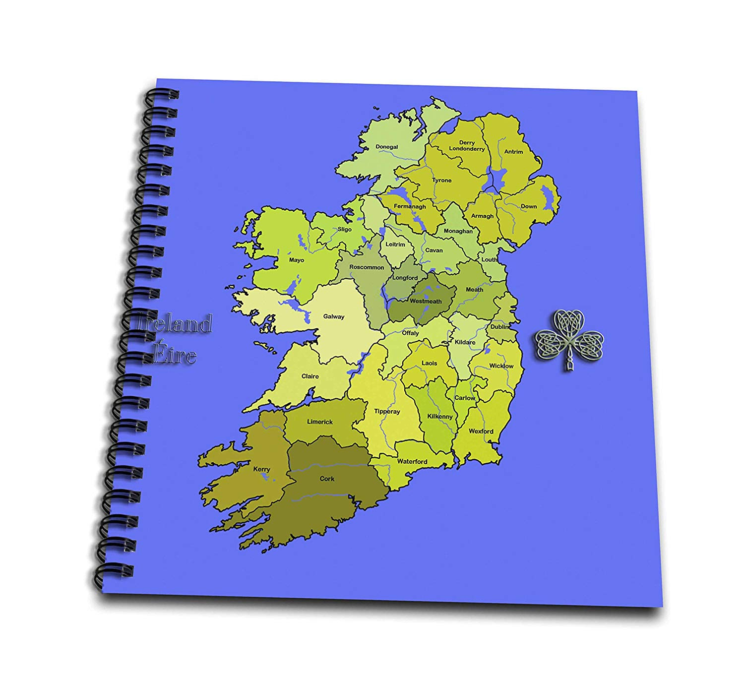 Ireland Map Drawing