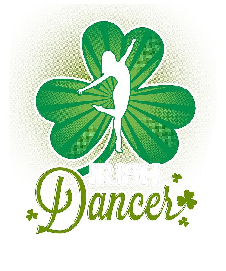 750x900 irish dancer shamrock ireland lover irish heritage drawing