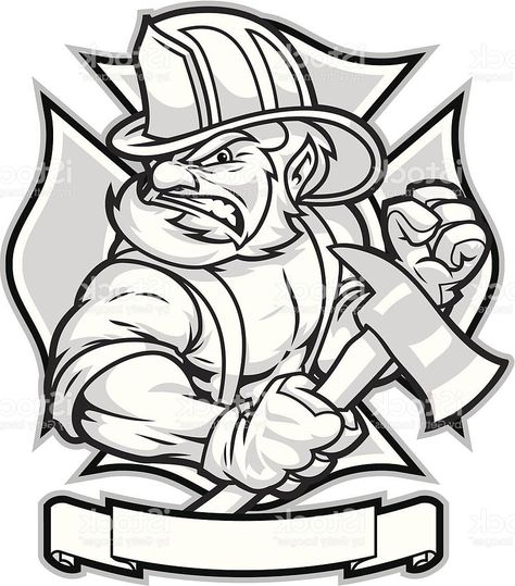 474x539 image result for firefighter drawing irish firefighter