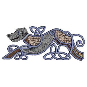 300x300 irish wolfhound dog embroidered towels, personalised towels, irish