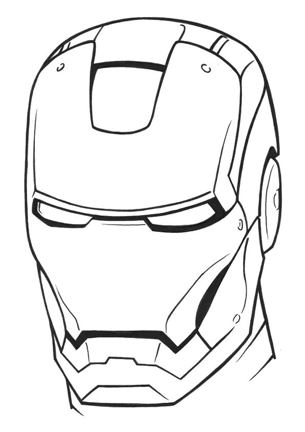 595x842 iron man in iron man drawing easy, easy