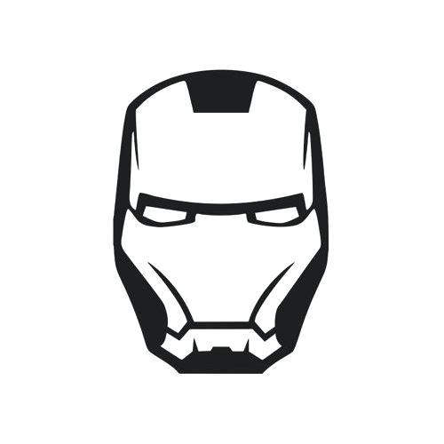 500x500 how to make iron man mask drawing realistic iron man helmet