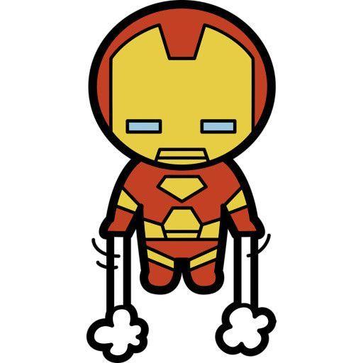 512x512 kawaii iron man fathead drawings baby superhero, iron man