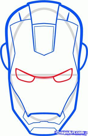 290x448 how to draw iron man easy step action hero in iron man