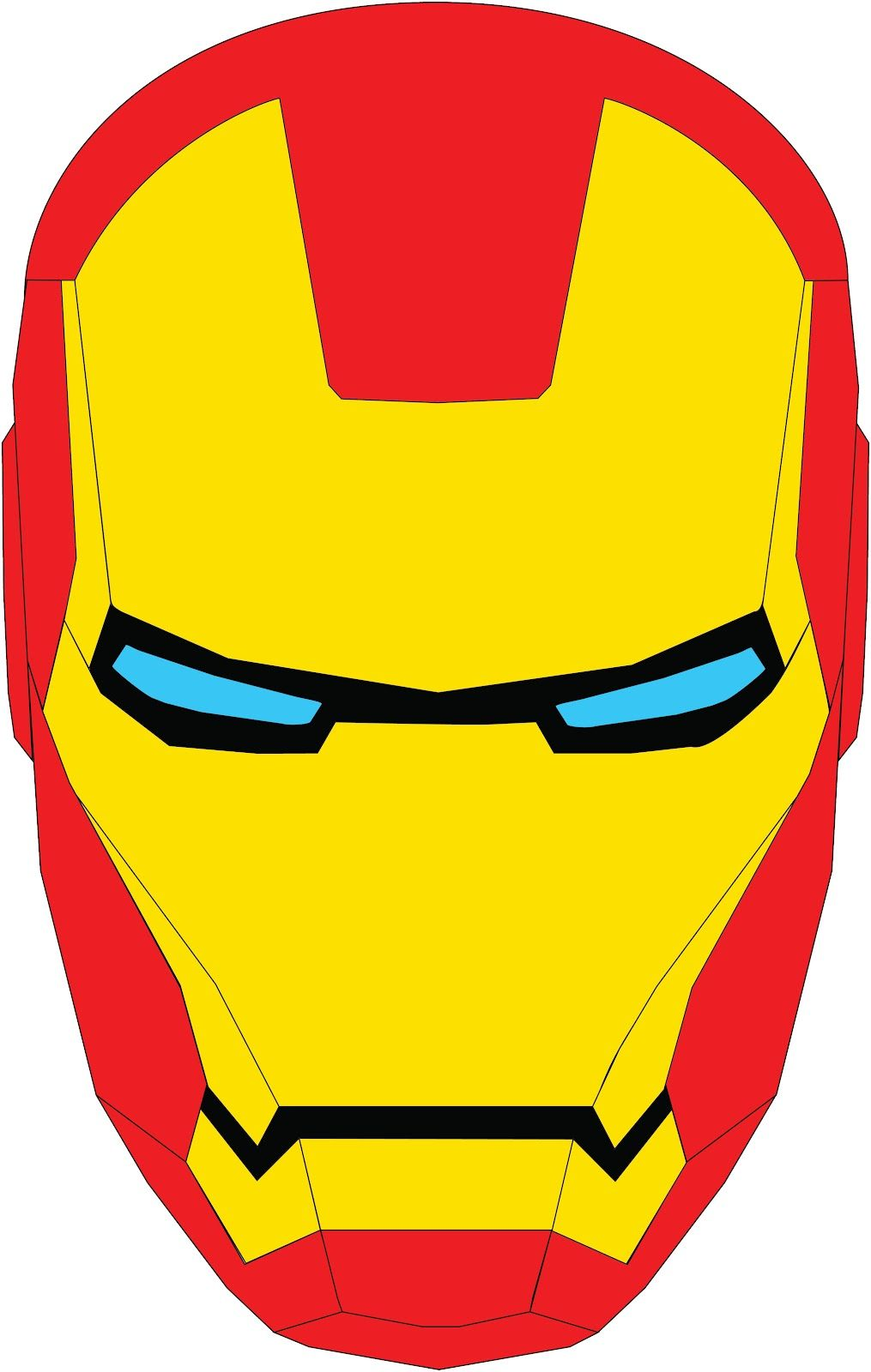 1015x1600 images for gt iron man face super hero board iron man face