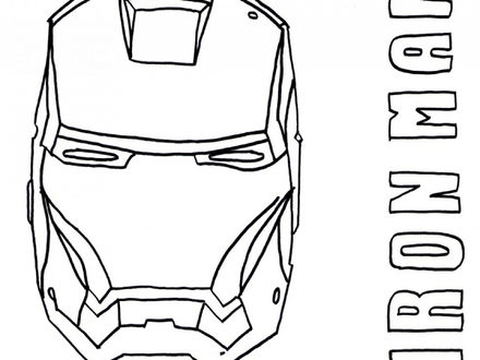 440x330 iron man face coloring pages, free coloring pages of iron man