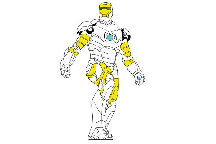 750x500 How To Draw Iron Man In Options, Easy And Simple