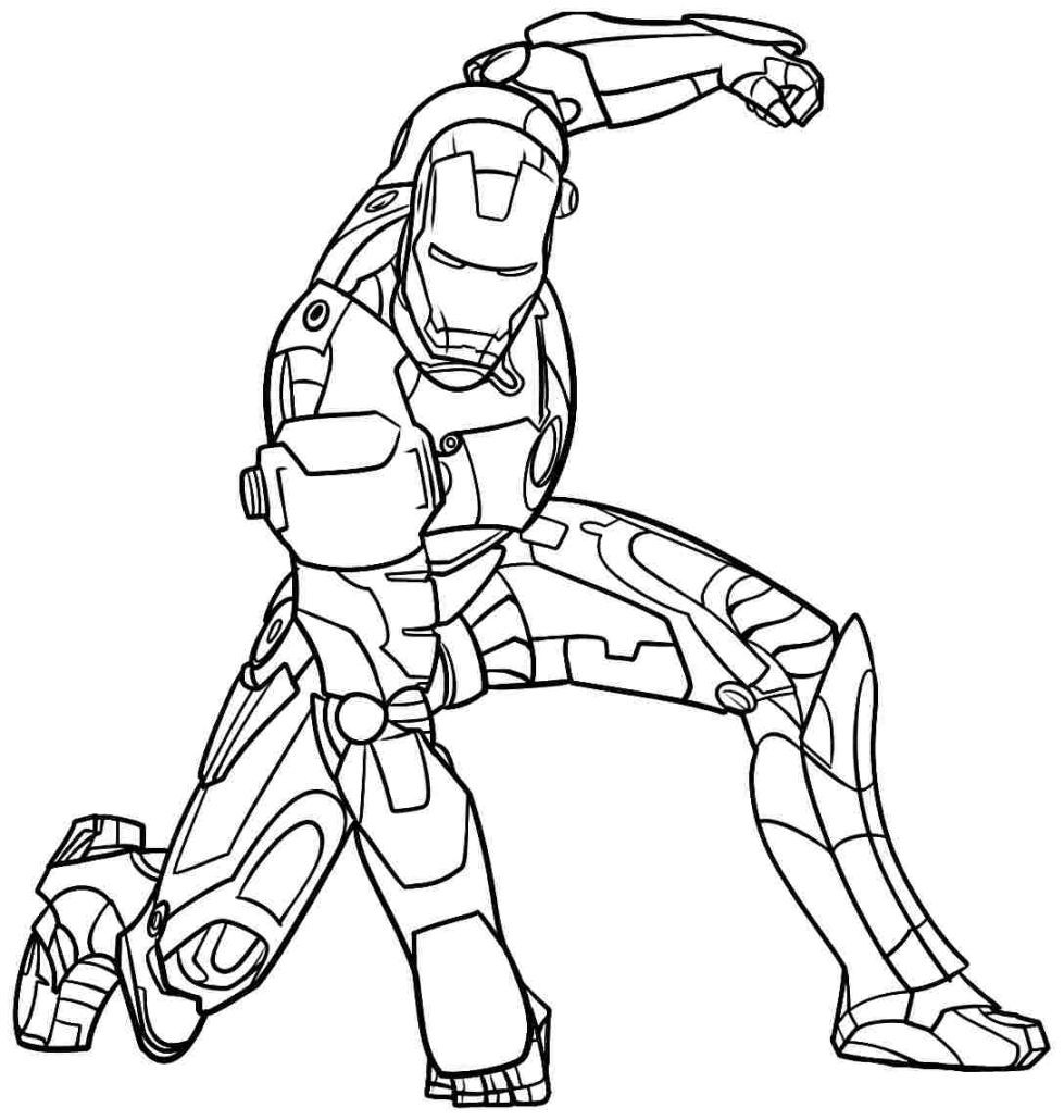 979x1030 Fanciful Ironman Pictures To Print Iron Man Coloring Pages