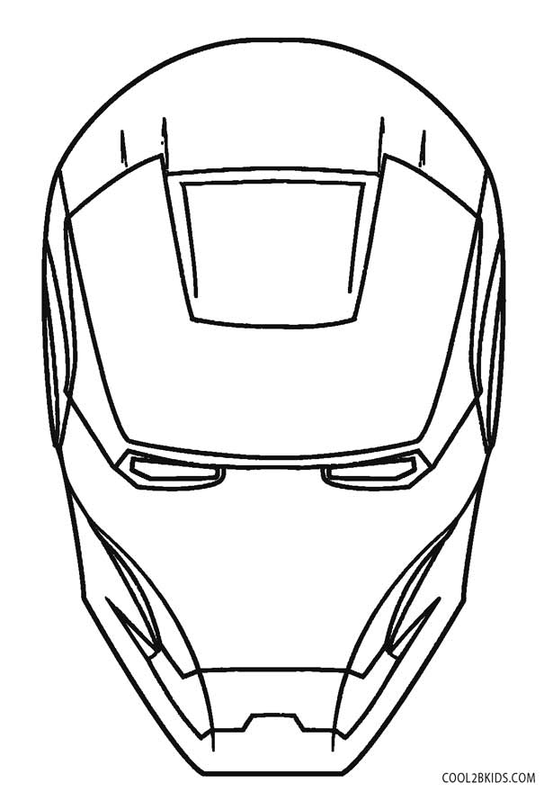 615x900 Free Printable Iron Man Coloring Pages For Kids