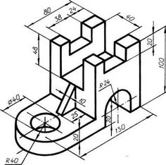 Isometric And Orthographic Drawing Worksheets | Free