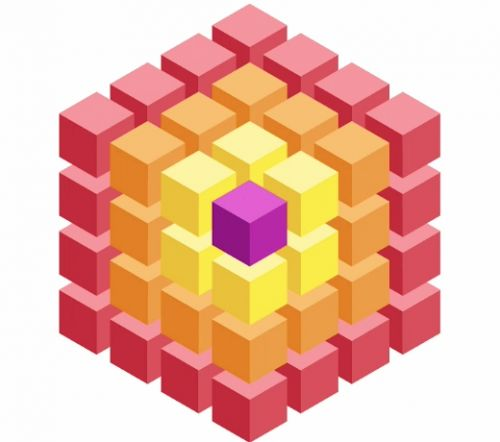 Isometric Cube Drawing | Free download best Isometric Cube