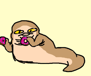 300x250 Jabba The Hutt Eating Donuts