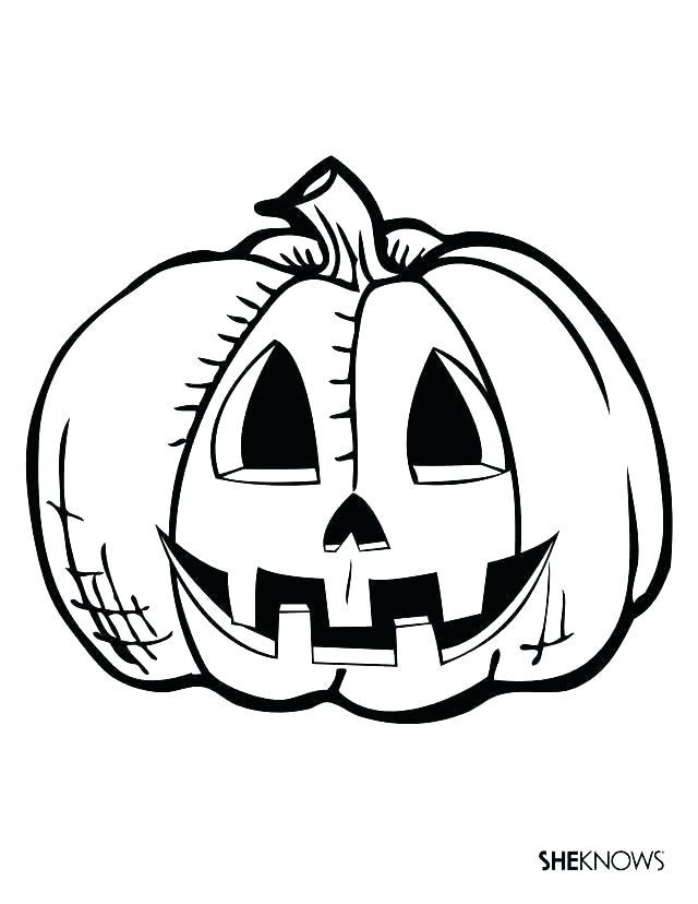 Jack O Lantern Drawing Patterns Free Download Best Jack O