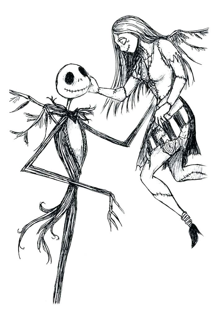 Jack The Pumpkin King Drawing Free Download Best Jack The