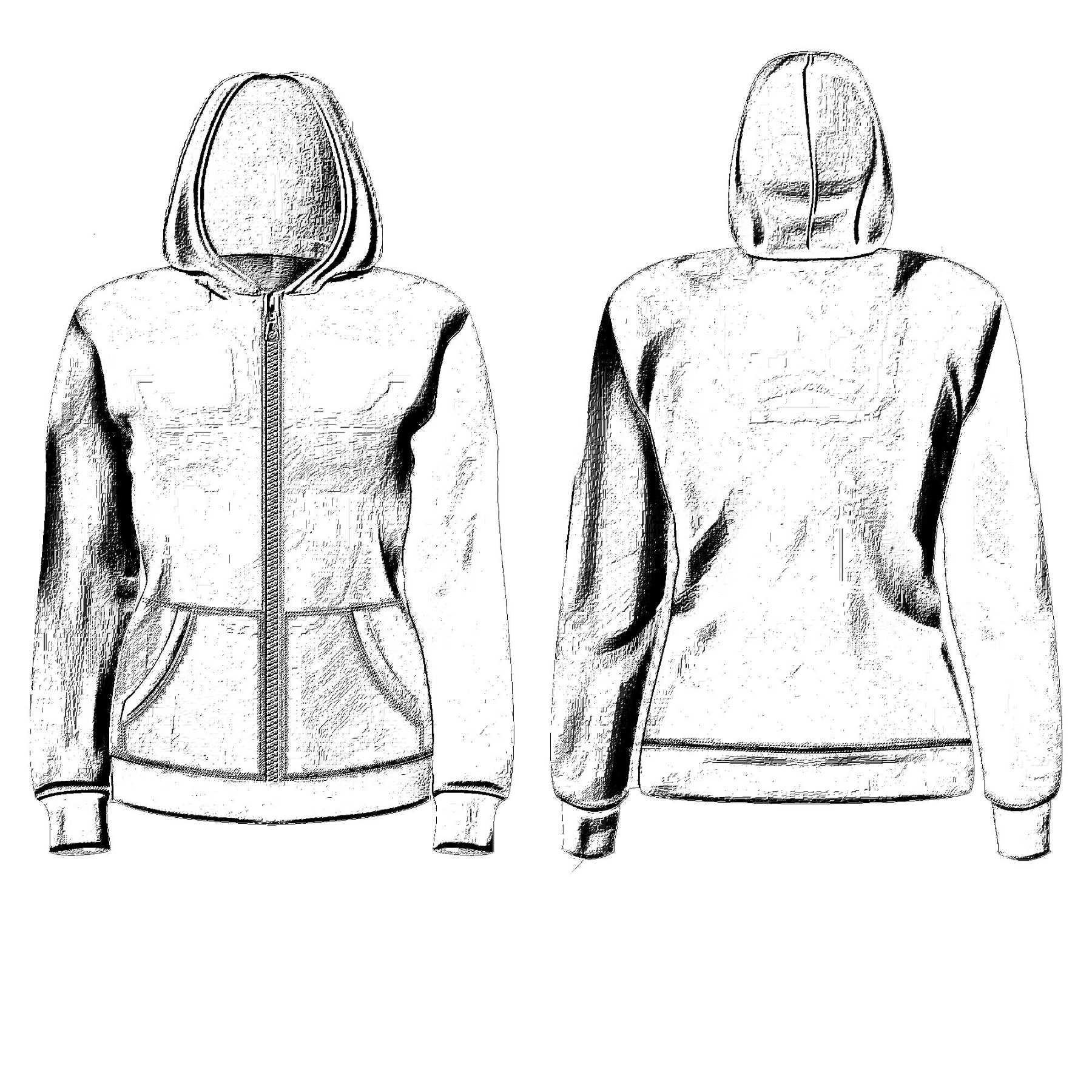 It is a photo of Stupendous Jacket Tied Around Waist Drawing