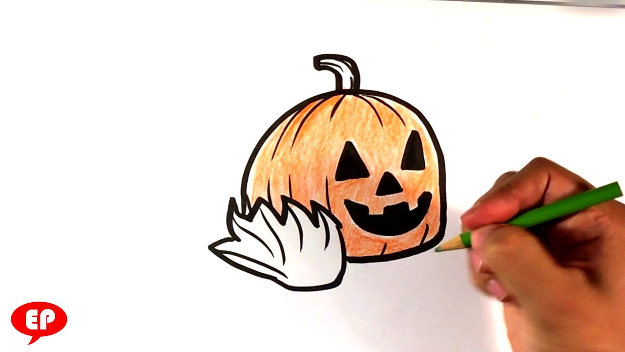 1280x720 How To Draw A Halloween Jack