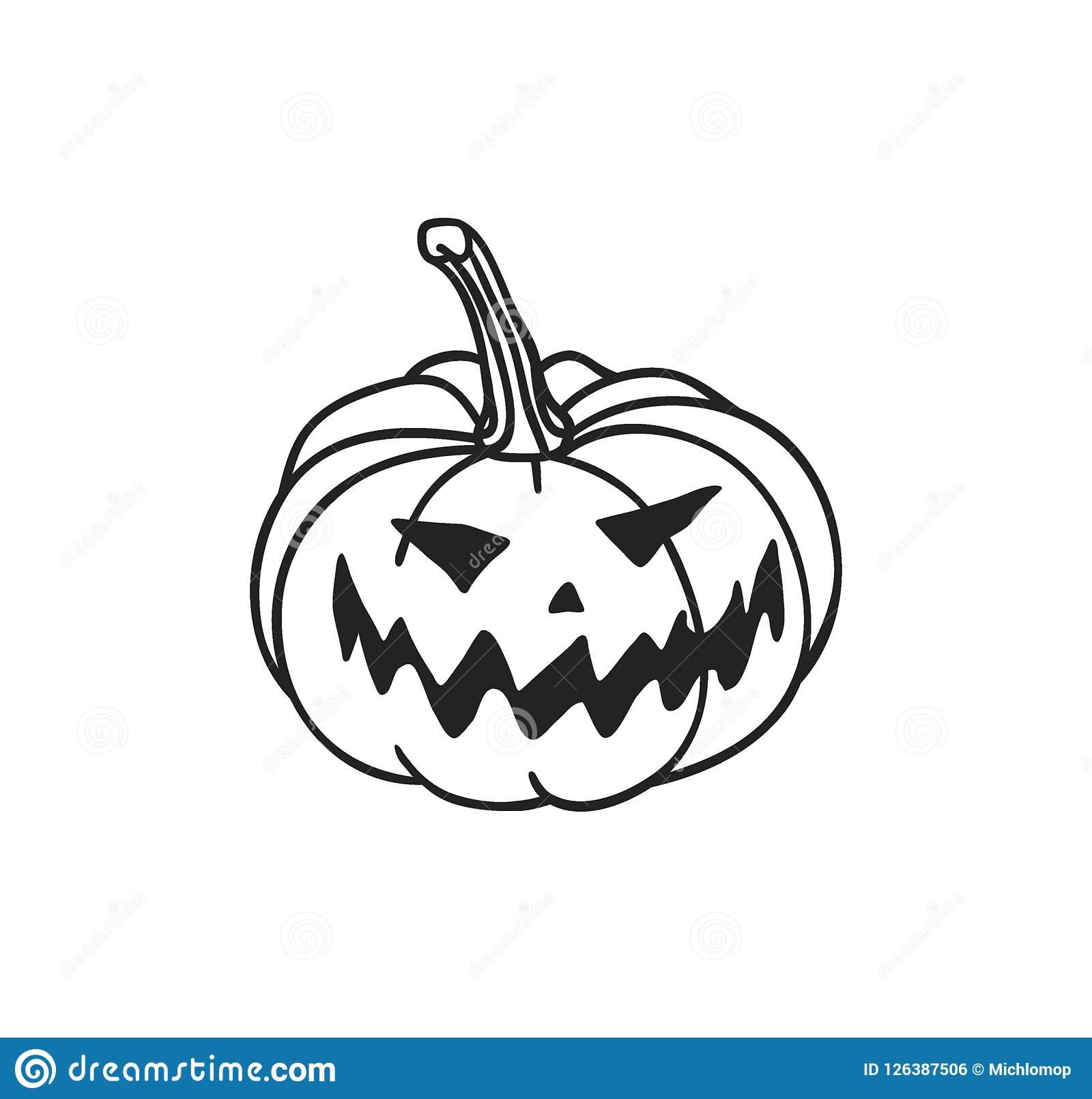 1600x1610 Jack O Lantern Drawing