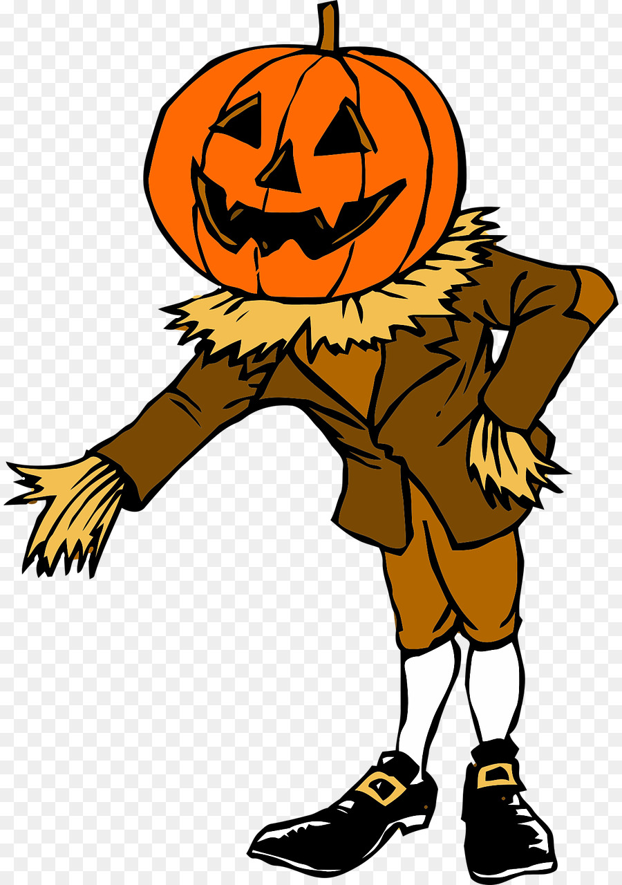 900x1280 Pumpkin, Halloween, Drawing, Transparent Png Image Clipart Free