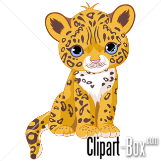 324x324 Cute Baby Jaguar Clip Art Animal Clip Art From The Clipart Box