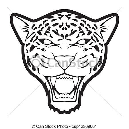 450x448 Jaguar Clip Art Color In Jaguar, Drawing Stencils, Drawings
