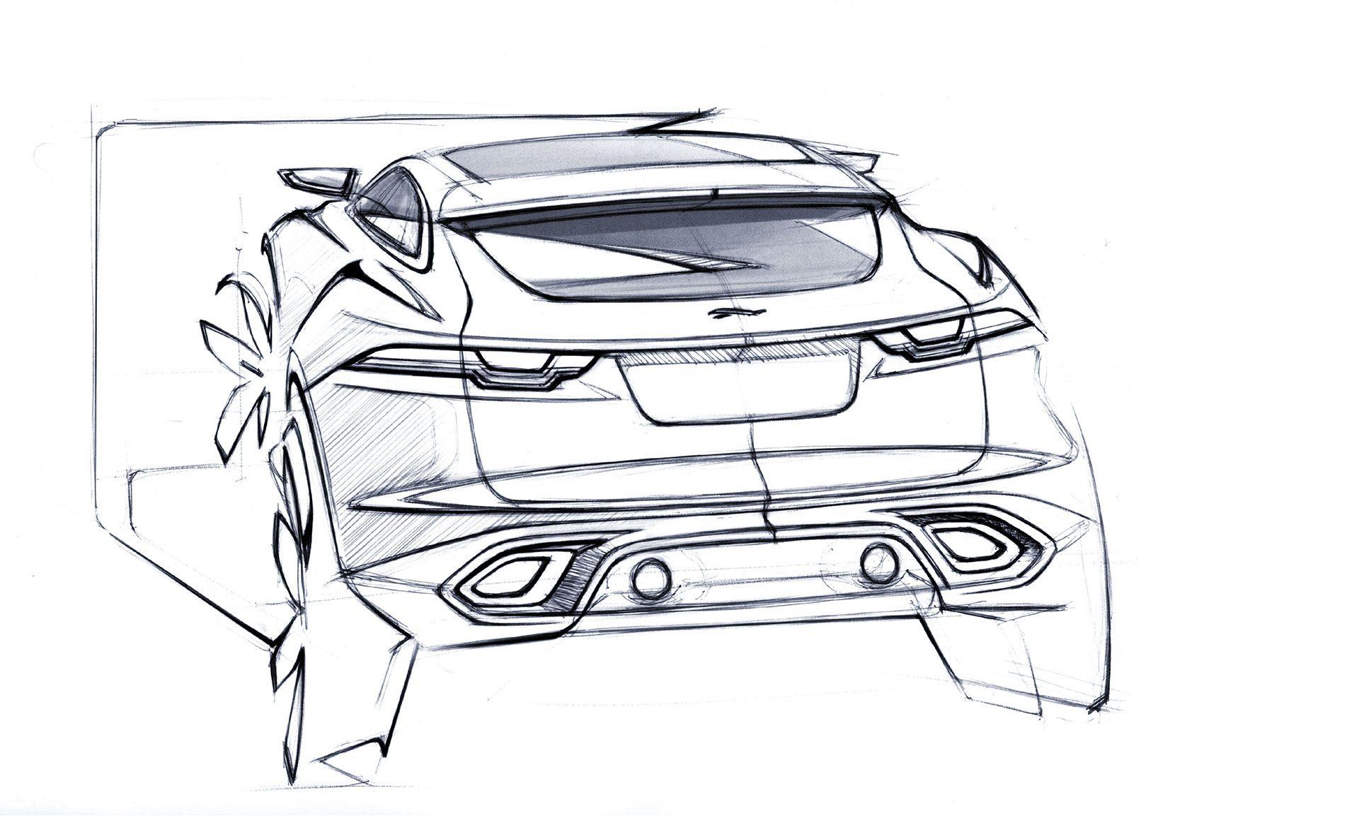1920x1153 Jaguar C Concept Design Sketch Car Design Sketch Bocetos