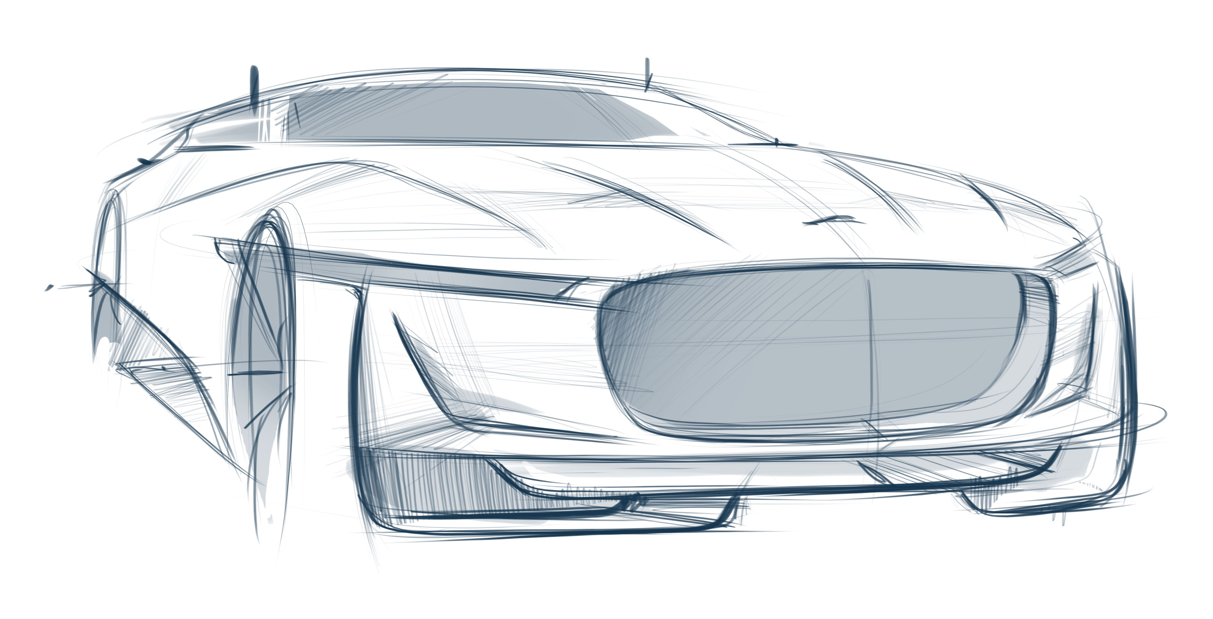 4123x2103 Jaguar E Luxury Concept Hot Sketches Car Design Sketch, Car