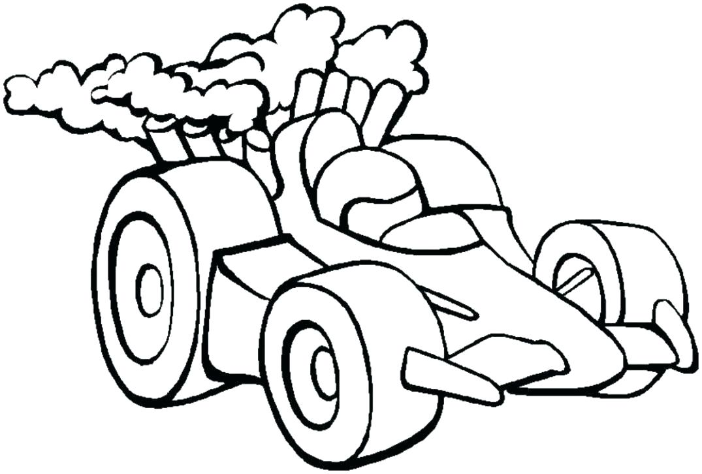 1075x726 Race Car Coloring